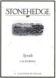 Stonehedge Syrah California